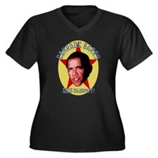 Comrade Barry Says Submit Women's Plus Size V-Neck