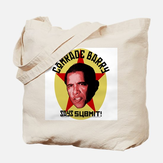 Comrade Barry Says Submit Tote Bag