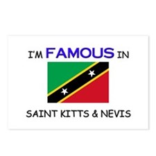 I'd Famous In SAINT KITTS & NEVIS Postcards (Packa
