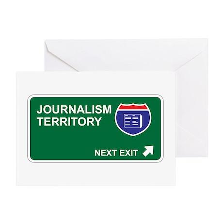 Journalism Territory Greeting Card