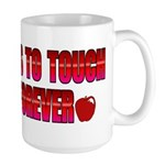 Touch A Life Forever Large Mug
