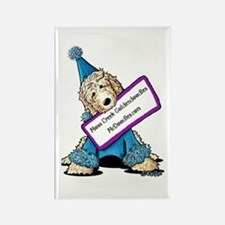 McDoodles Jordan Clown Rectangle Magnet