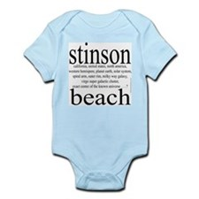 367. stinson beach Infant Creeper