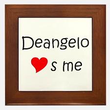 Unique Deangelo Framed Tile