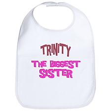 Trinity - The Biggest Sister Bib