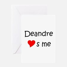 Cool Deandre Greeting Card