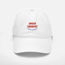 Retired Speech Therapist Baseball Baseball Cap