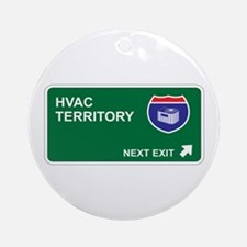 HVAC Territory Ornament (Round)