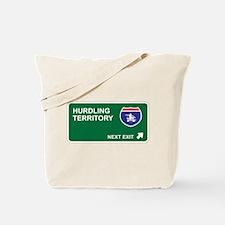 Hurdling Territory Tote Bag