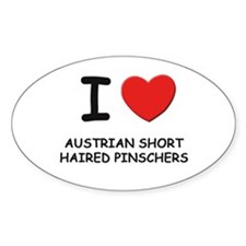 I love AUSTRIAN SHORT HAIRED PINSCHERS Decal