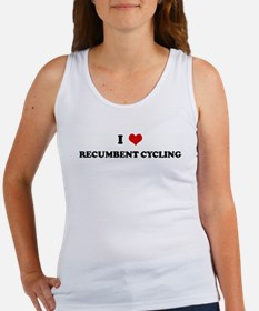 I Love RECUMBENT CYCLING Women's Tank Top
