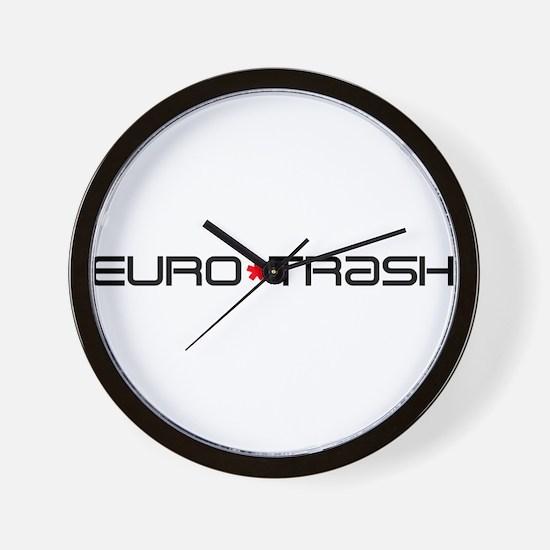 Eurotrash Logo Wall Clock