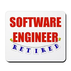 Retired Software Engineer Mousepad