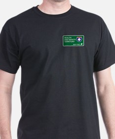Health, and Safety Territory T-Shirt