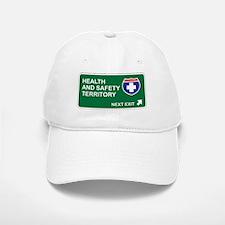 Health, and Safety Territory Baseball Baseball Cap