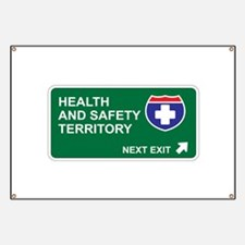 Health, and Safety Territory Banner