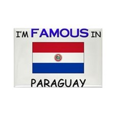 I'd Famous In PARAGUAY Rectangle Magnet
