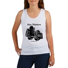 Size Matters - Women's Tank Top by BoostGear.com