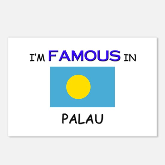 I'd Famous In PALAU Postcards (Package of 8)