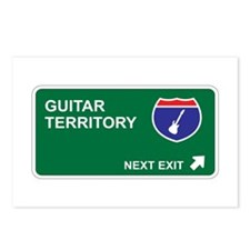 Guitar Territory Postcards (Package of 8)
