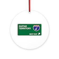 Guitar Territory Ornament (Round)
