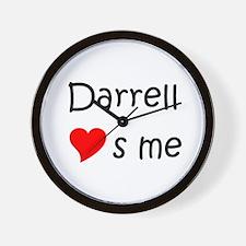 Funny Darrell Wall Clock