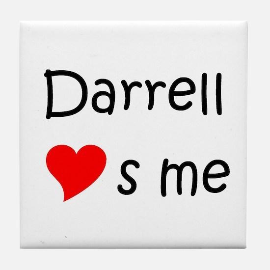 Unique Darrell Tile Coaster