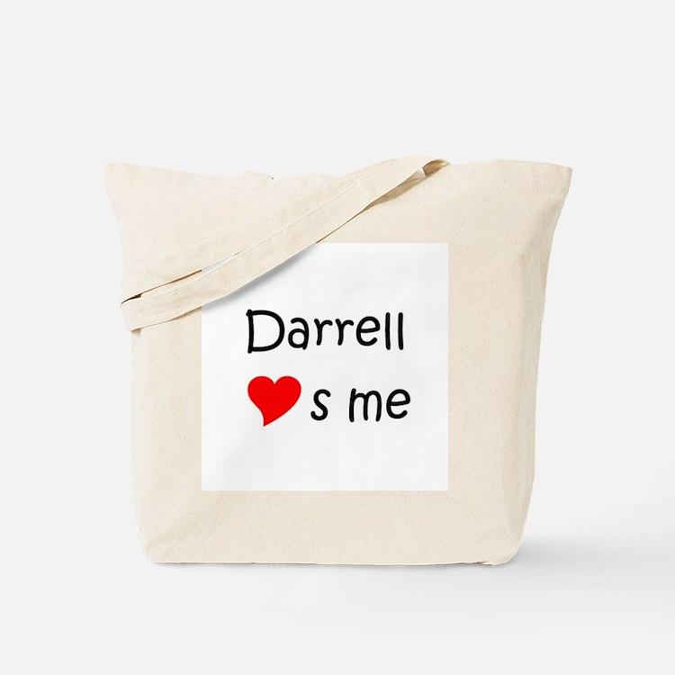 Cute Darrell name Tote Bag