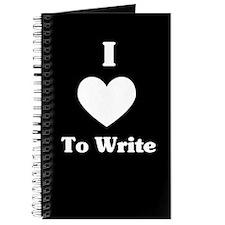 I Love To Write Journal