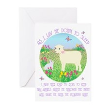 As I Lay Me Down to Sleep Greeting Cards (Package