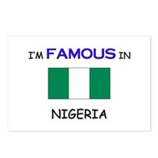 I'd Famous In NIGERIA Postcards (Package of 8)