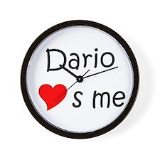 Cool Dario Wall Clock