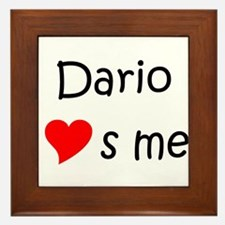 Cool Dario Framed Tile