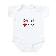 Cute Desirae Onesie