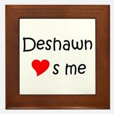 Unique Deshawn Framed Tile