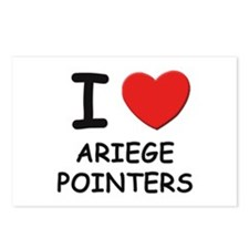 I love ARIEGE POINTERS Postcards (Package of 8)