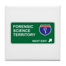 Forensic, Science Territory Tile Coaster