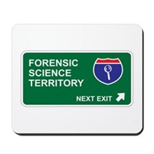 Forensic, Science Territory Mousepad