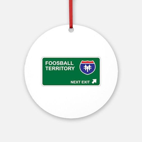 Foosball Territory Ornament (Round)