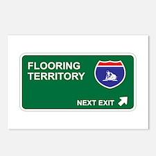 Flooring Territory Postcards (Package of 8)
