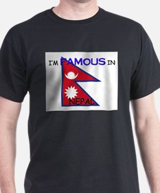 I'd Famous In NEPAL T-Shirt
