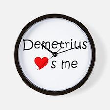 Cool Demetrius Wall Clock