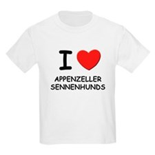 I love APPENZELLER SENNENHUNDS T-Shirt