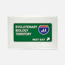 Evolutionary, Biology Territory Rectangle Magnet