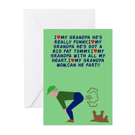I love Grandpa Greeting Cards (Pk of 10)