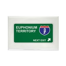 Euphonium Territory Rectangle Magnet