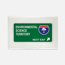 Environmental, Science Territory Rectangle Magnet