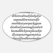 Stationery - Time Oval Decal
