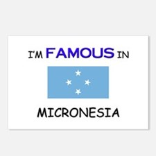I'd Famous In MICRONESIA Postcards (Package of 8)