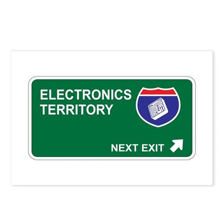 Electronics Territory Postcards (Package of 8)